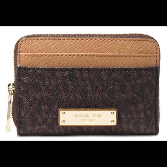 8ac35fd9a8ff5b Michael Kors Bags   New Small Ziparound Wallet   Poshmark